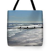 Glistening Shore Tote Bag