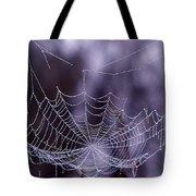 Glistening Web Tote Bag