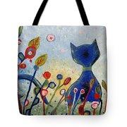Glitter Kitty Tote Bag