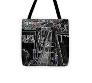glo 247- Going To The Boardwalk Tote Bag