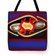 Global Dancing Round The Golden Calf Tote Bag