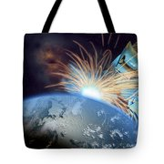 Global Meltdown Tote Bag