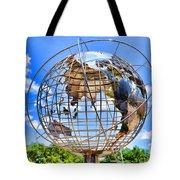 Globe At Columbus Circle Tote Bag