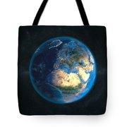 Globe Daynight Europe Tote Bag