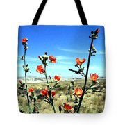 Globe Mallows Tote Bag