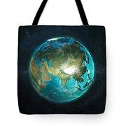Globe Physical Asia Tote Bag