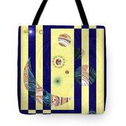 Globe Trotting Tote Bag
