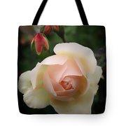 Glowing Rose Tote Bag