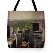 Gloomy Central Park Tote Bag
