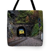 Gloomy Day On The Clinchfield  Tote Bag