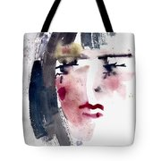 Gloomy Woman  Tote Bag