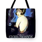 Gloria Swanson In Her Husband's Trademark 1922 Tote Bag