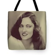 Gloria Swanson, Vintage Actress Tote Bag