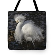 Glorious Egret Tote Bag