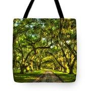 Glorious Entrance Tomotley Plantation South Carolina  Tote Bag