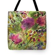 Glorious Flowers Tote Bag