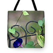 Glorious Morning Glory Tote Bag