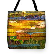 Glorious Morning Lilies Tote Bag