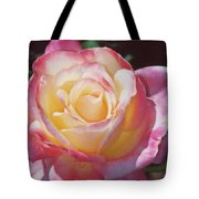 Glorious Pink Rose Tote Bag