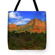 Glorious Sedona  Tote Bag by Ola Allen