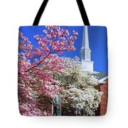 Glorious Sunday Morning In Spring Tote Bag