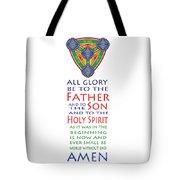 Glory Be Prayer Tote Bag