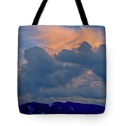 Glory Of Sunset Tote Bag