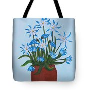 Glory Of The Snow Tote Bag