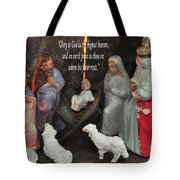 Glory To God Tote Bag