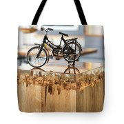 Glossy Coffee Table Tote Bag