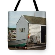 Gloucester Boat House Tote Bag