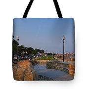 Gloucester Waterfront Gloucester Harbor Tote Bag