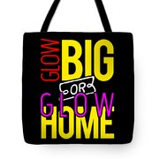 Glow Birthday Party Apparel Tote Bag