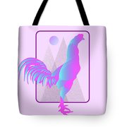 Glow Chicken Tote Bag