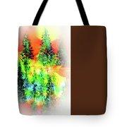 Winter's Glow Tote Bag