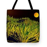Glow Of Night Tote Bag