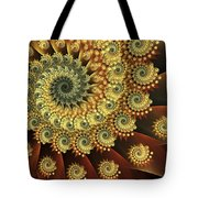 Glowing Amber Tote Bag