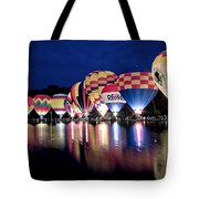 Glowing Balloons Tote Bag