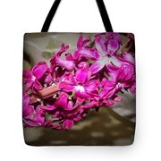 Glowing Blossoms  Tote Bag