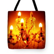Glowing Chandelier--companion Piece Tote Bag