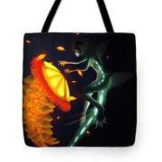 Glowing Depths Tote Bag