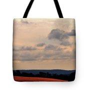 Glowing Field Tote Bag