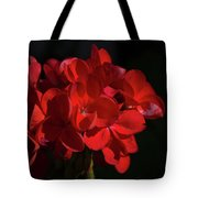 Glowing Flower In The Dark Tote Bag