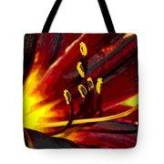 Glowing Flower Power Tote Bag