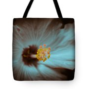 Glowing Hibiscus Tote Bag