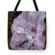 Glowing Hibiscus Tote Bag