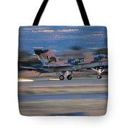 Glowing Hornet Tote Bag