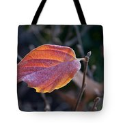 Glowing Leaf Tote Bag