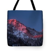 Glowing Little Cottonwood Canyon Tote Bag