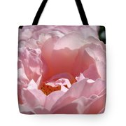 Glowing Pink Rose Flower Giclee Prints Baslee Troutman Tote Bag